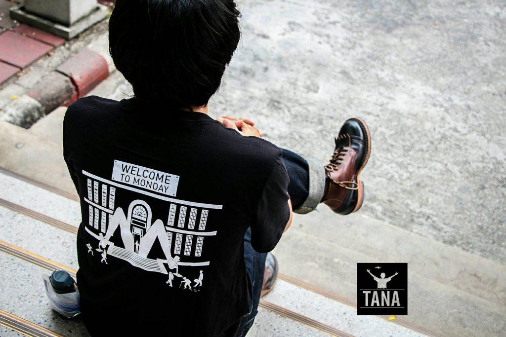 เสื้อยืดแบรนด์ TANA
