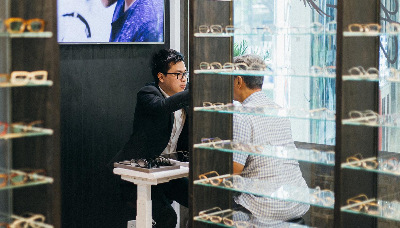 ร้านแว่นทำเลนส์โปรเกรสซีฟ